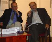 Dr. Axel Janowitz und Adam Krzeminski (v.l.)