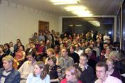 Die Veranstaltung war sehr gut besucht